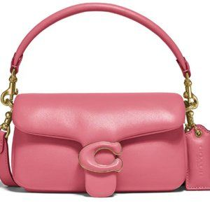 COACH abby medium Pillow Leather Shoulder Bag